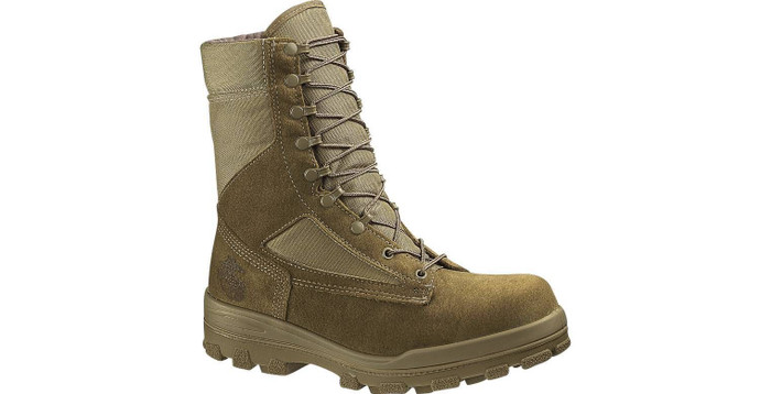 Bates 40501 Mens USMC Durashocks® Steel-Toe Hot Weather Boot