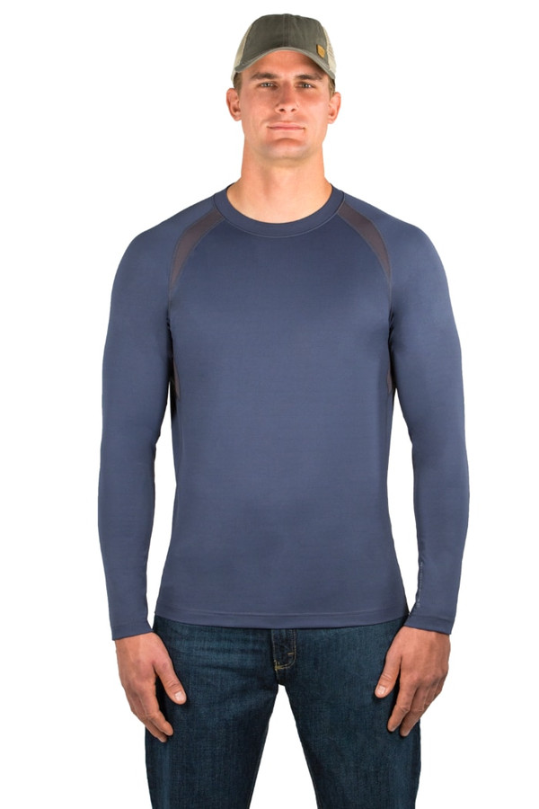 Noble Outfitters 11503-724 Mens Kinetic Crew Shirt