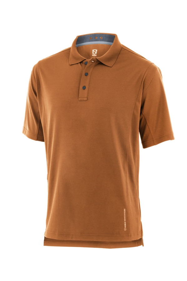 Noble Outfitters 12500-310 Mens Coolflo Performance Spice Polo Shirt