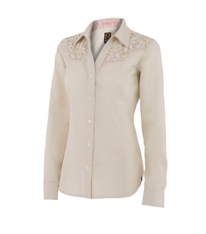 Noble Outfitters 21005-101 Womens Bluegrass Button Lace Shirt