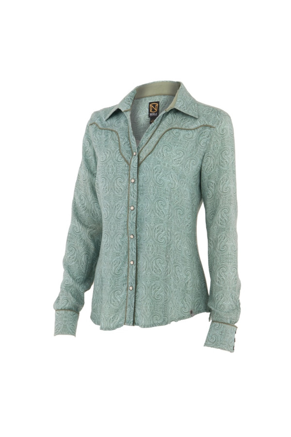 Noble Outfitters 21006-857 Womens Lil'Bit Country Shirt