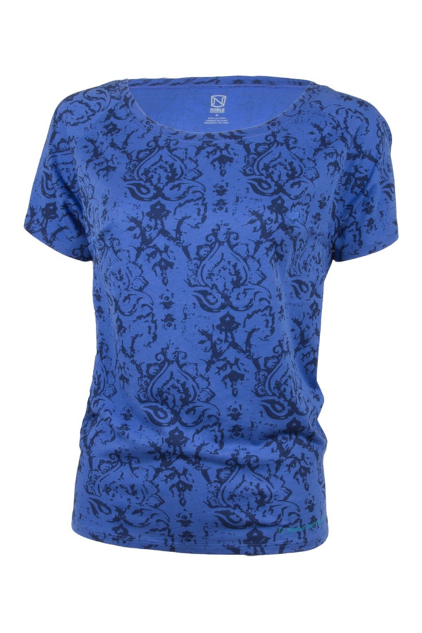 Noble Outfitters 22510-738 Womens Blue Lorinda Top Shirt