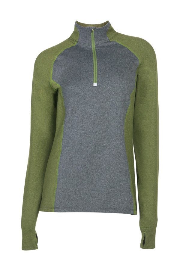 Noble Outfitters 21520-843 Womens Athena Quarter Zip Shirt