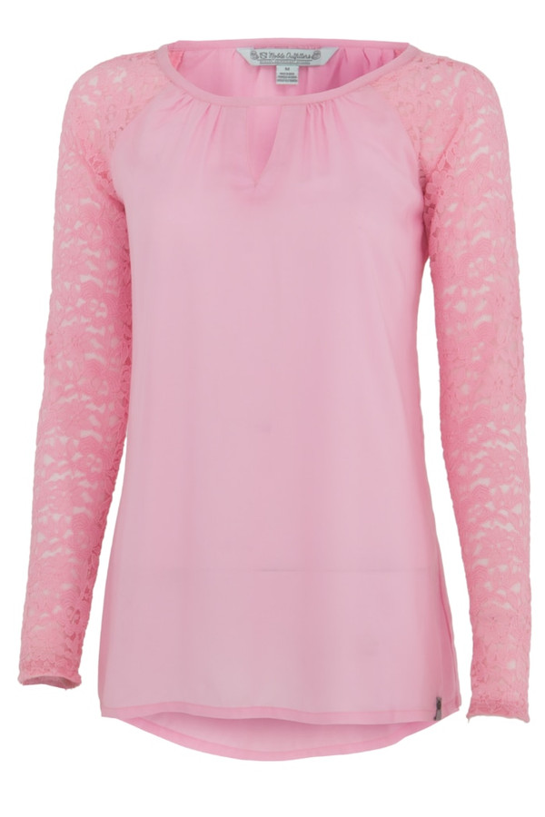 Noble Outfitters 21014-600 Womens Gypsy Lilac Lace Shirt