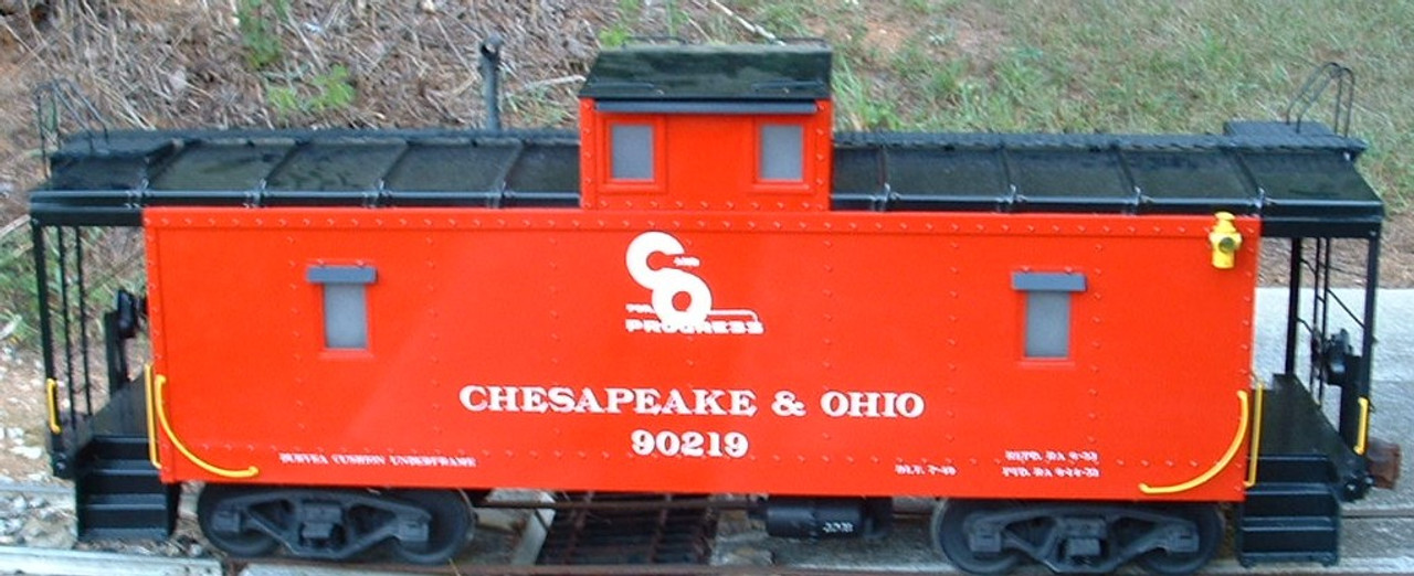 Center Cupola Caboose Body (Assembled)