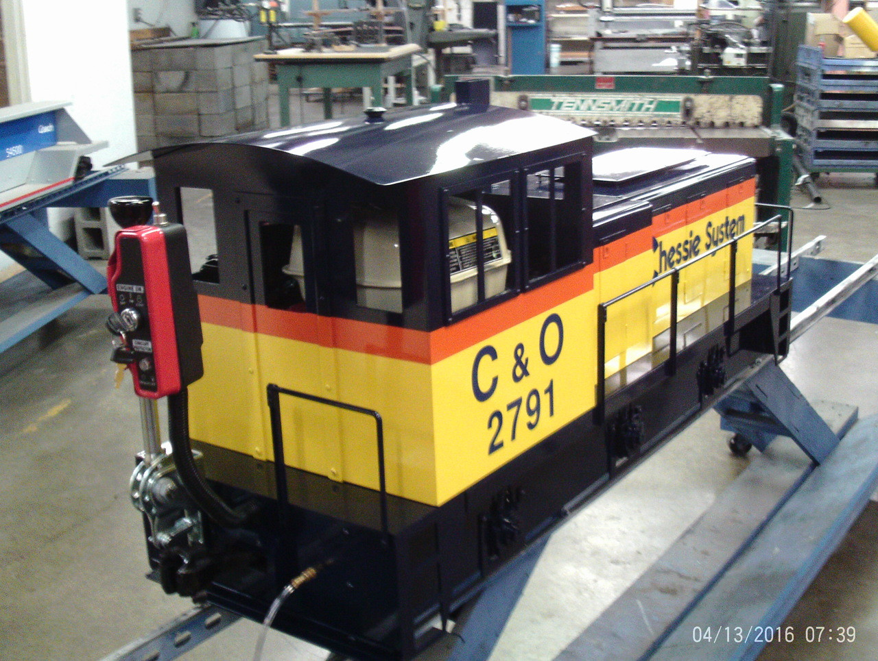 Titan Jr.  Locomotive