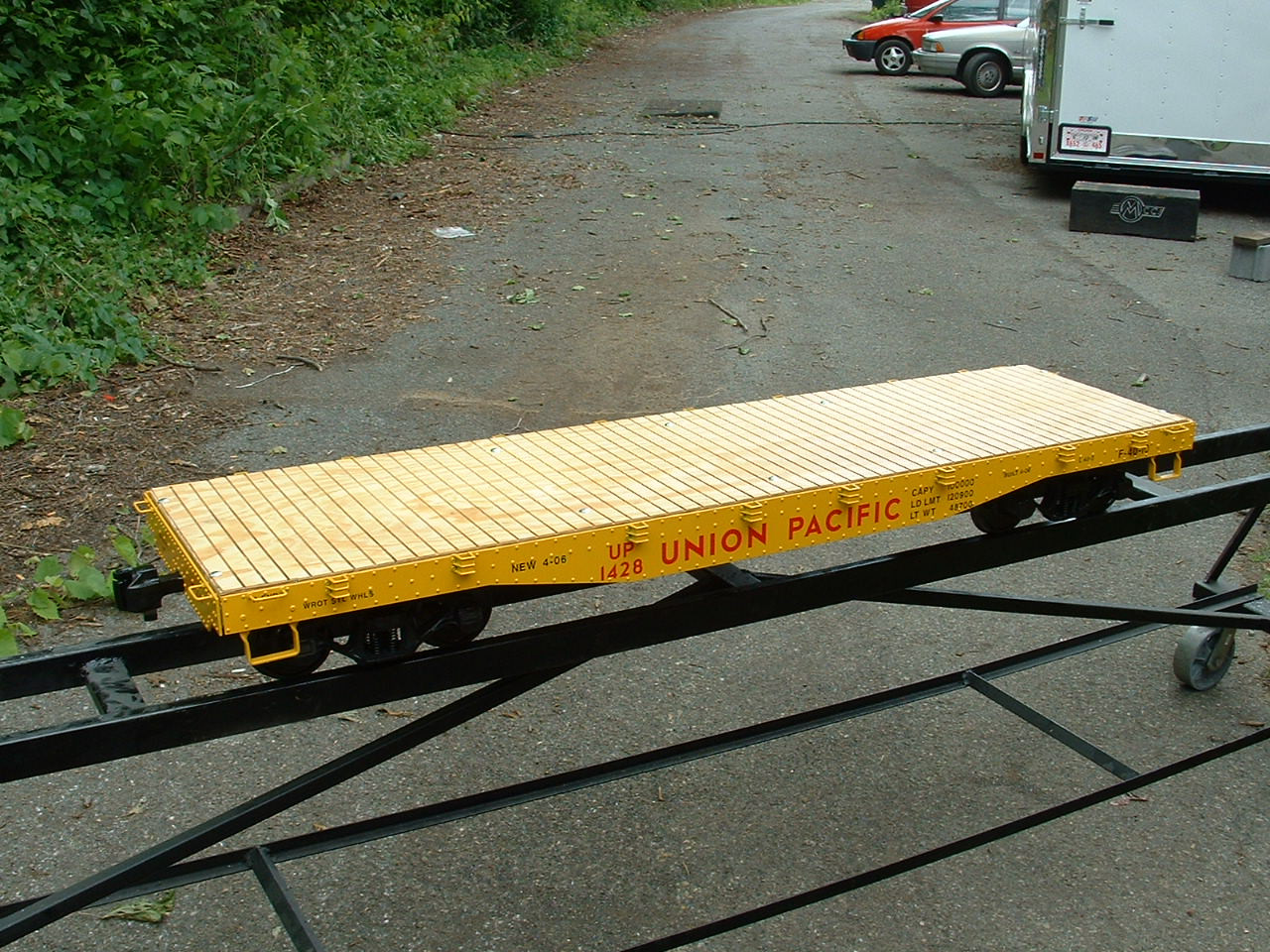 Flat Car 6' Body (Kit)