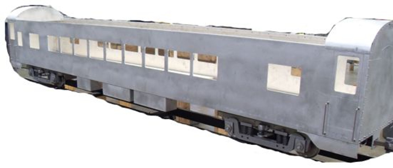 Coach Car Body, Smooth (Assembled)