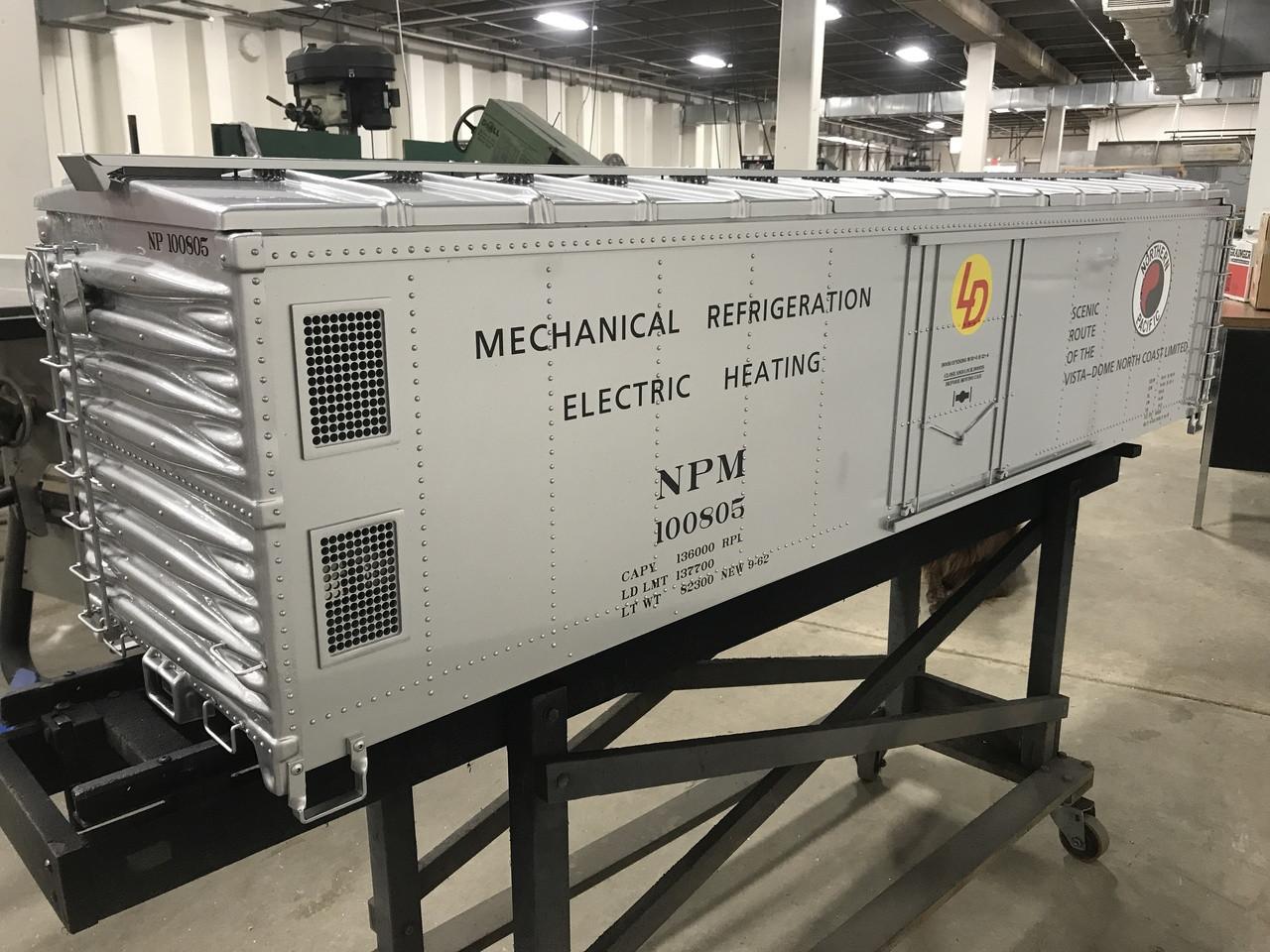 50' Mechanical Reefer (Assembled)