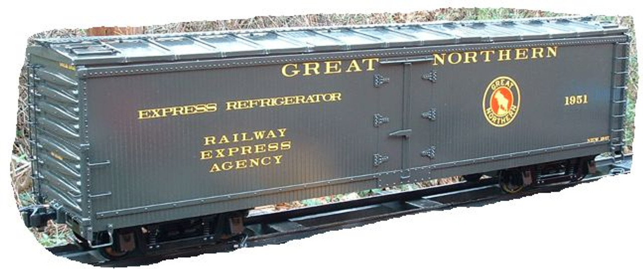 50' Express Reefer, Wood Type, with Ice Hatches (Kit)