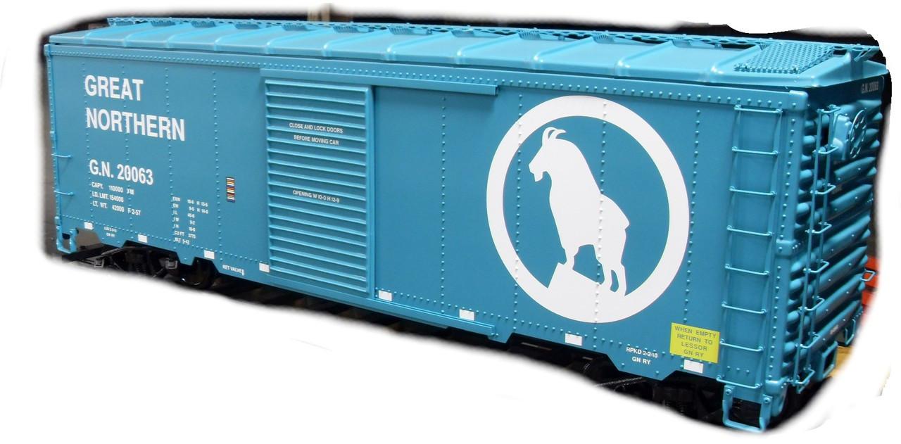 Box Car 40' Series Body--unpainted--IN STOCK