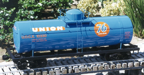 Tank Car 4' Body (Assembled)--IN STOCK--unpainted