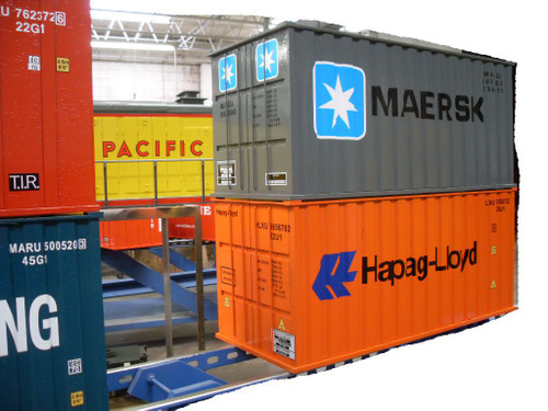 Container 20' (Assembled)--IN STOCK, unpainted