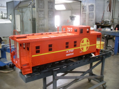 End Cupola Caboose Body  Assembled