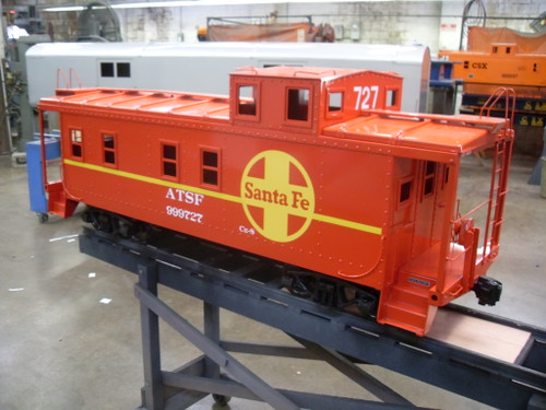 End Cupola Caboose Body --IN STOCK, unpainted, Assembled