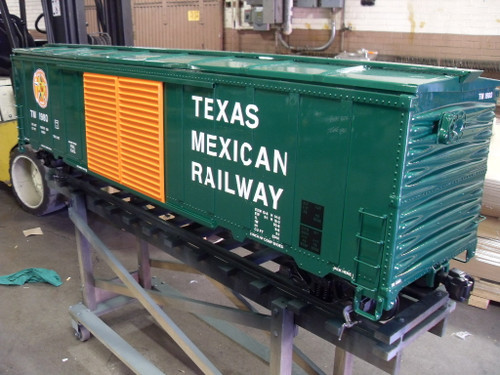 50' Modern Box Car Body--unpainted--IN STOCK