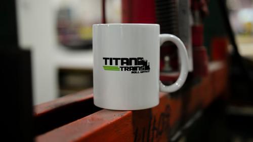 Titan Trains Coffee Mug