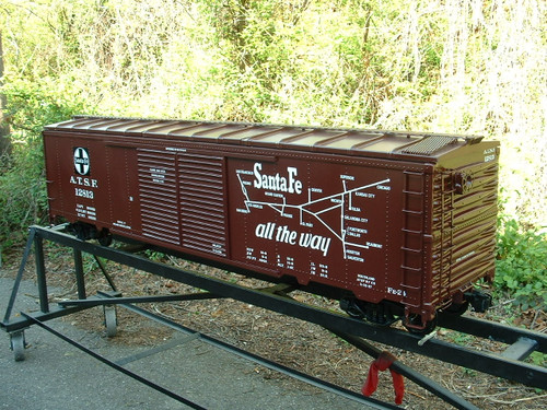 Box Car 50' Series Body--unpainted