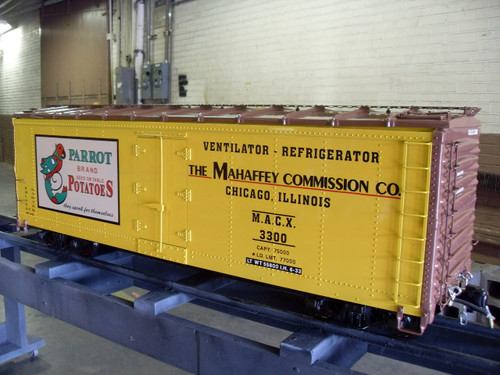 40' Series Reefer Body, Steel Type (Assembled) unpainted