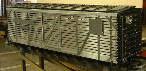 Stock Car Body, 40' Series--unpainted--IN STOCK
