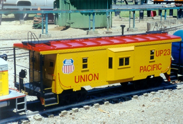 Bay Window Caboose Body (Assembled)--IN STOCK, unpainted