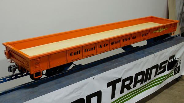 7' Low Side Gondola Body, (Assembled)  $1075