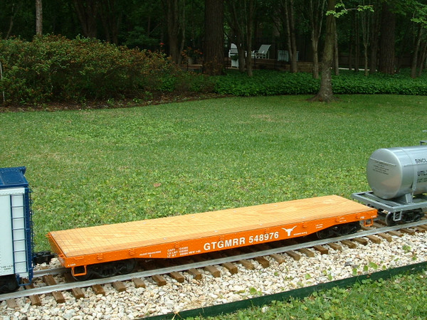 Flat Car 6' Body Assembled--IN STOCK-unpainted  $895.