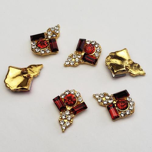 Crystal Decor Charms (2)