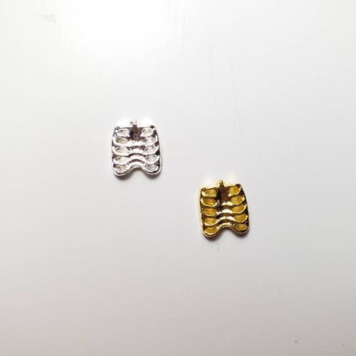Rib Cage Bone Charms (5)