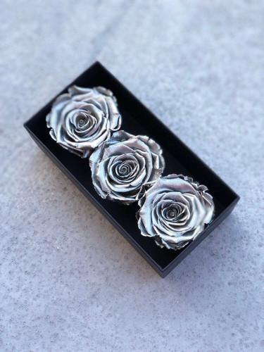 Designer Gift Box with Preserved Roses