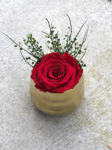 Unique Gift with Preserved Rose