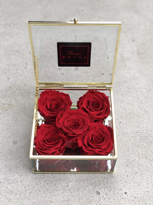Keepsake Box with Preserved Roses