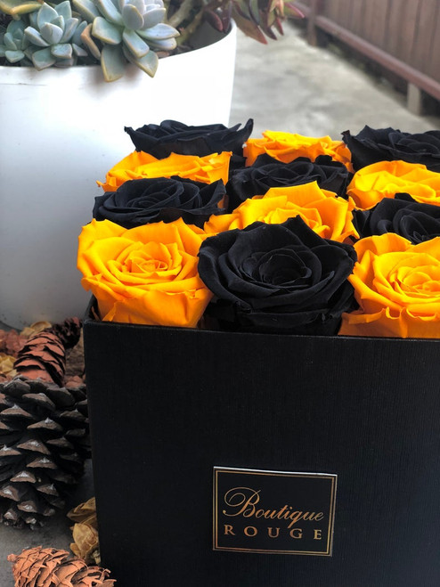 Fall Colors  Combination Preserved Roses