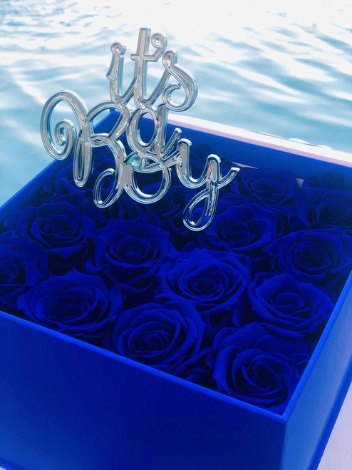 16 Infinity Roses for Baby Showers