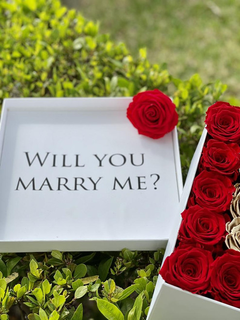 Proposal Preserved Roses