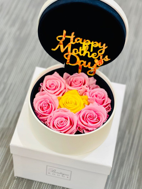 Mother's Day Gift with Preserved Roses