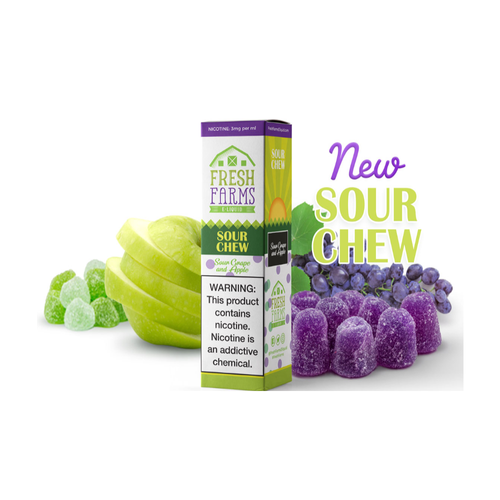 delicious blend of sour apple and grape that will make your taste buds tingle with excitement! Our unique mix of sour and sweet creates a tantalizing, candy-like experience that you won't be able to put down.