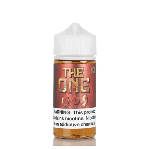 The One Apple Cinnamon is a doughnut dipped in a cereal mixture of apple and cinnamon with a sweet milk finish sure to satisfy your cravings.