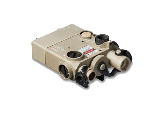 Laser Devices DBAL-I2 , Green Laser - Class IIIa, IR - Class I, Desert Tan