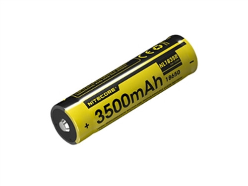 Nitecore NL1835R 3500 mAh Mirco USB Rechargeable 18650 battery