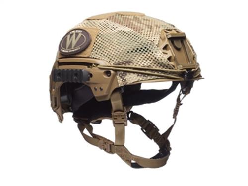 Team Wendy EXFIL LTP/Carbon Mesh Helmet Cover, MultiCam