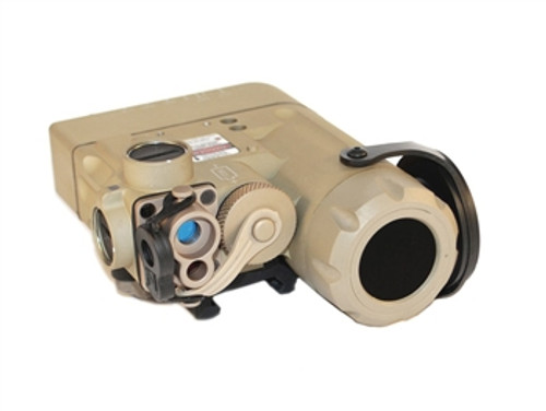 Steiner DBAL - D2 with Visible Green Laser, Class 1 IR Laser, IR LED Illuminator - Desert Sand