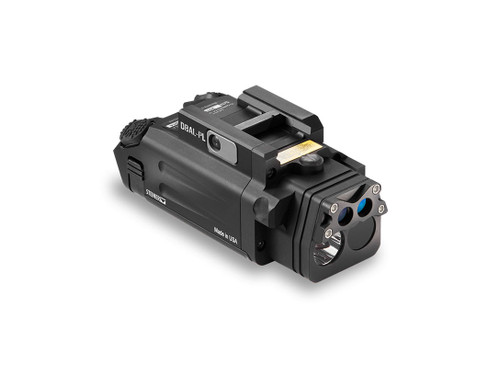 Laser Devices DBAL - PL with Visible Green Laser, Class 1 IR Laser, IR LED Illuminator and White LED - Black