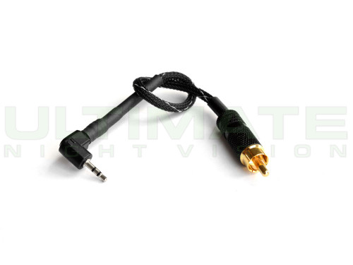 UNV - 8 Inch RCA Video Cable for the Pulsar APEX and MDVR