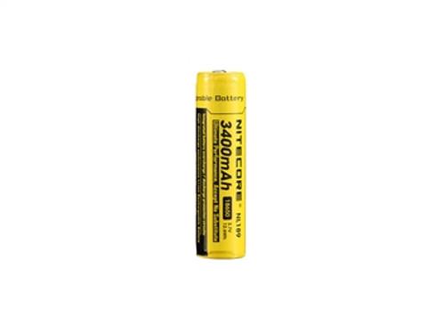 Nitecore NL189 Rechargable 18650 Battery - 3400mAh