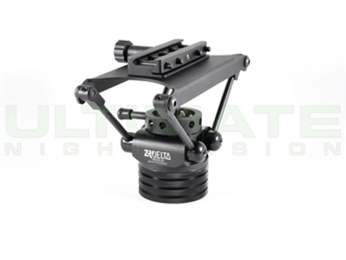 DCLW Head-S Tripod Head w/ DLOC QD Mount for Manfrotto Trpods