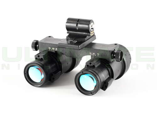 Harris F4949 AN/AVS-9 ANVIS Night Vision Binoculars Filmed Green - Refurbished
