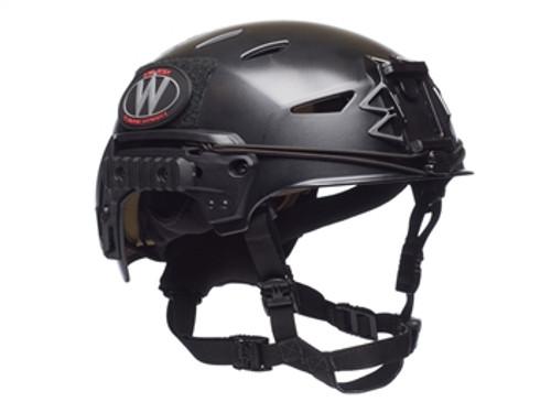 Team Wendy LTP EXFIL Bump Helmet Black Size 2 (L/XL) w/Shroud