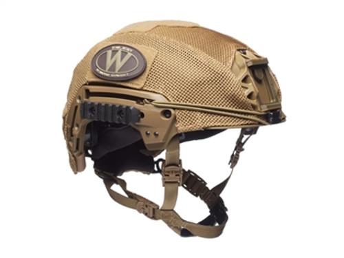 Team Wendy EXFIL LTP/Carbon Mesh Helmet Cover, Coyote Brown
