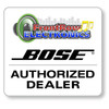 Front Row Electronics is a Bose Authorized dealer - Seal